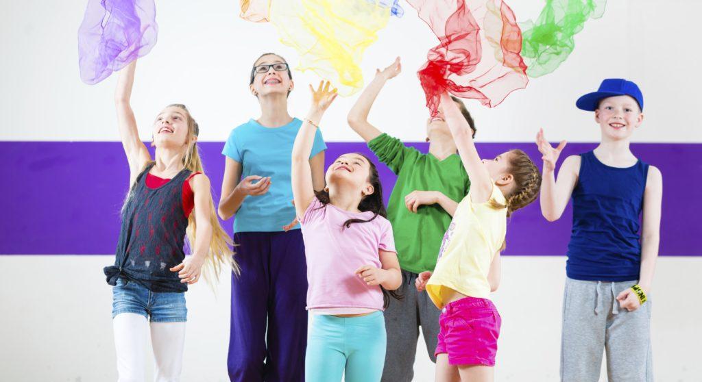 Children dancing. dance.