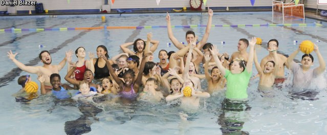 Splashball Participants at the YMCA