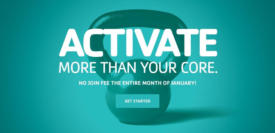 Activate more than your core. Join the Y!
