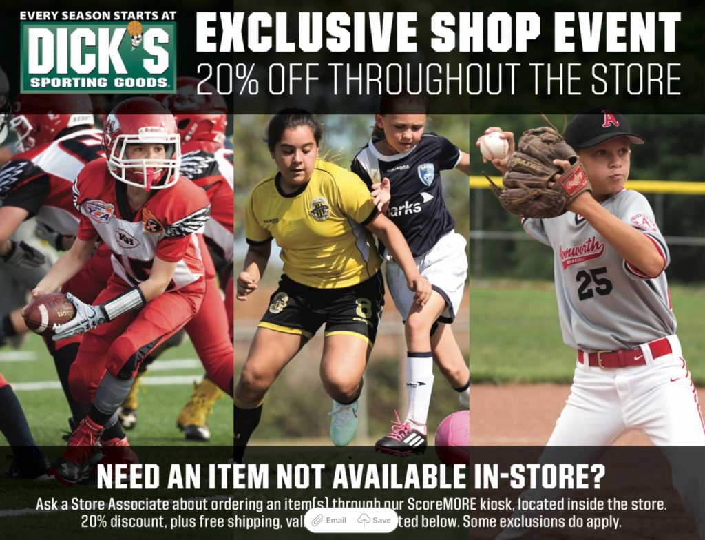 Sports Day at Dick's Sporting Goods