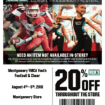 2018 YMCA of Greater Montgomery Shop Day at Dick's Sporting Goods